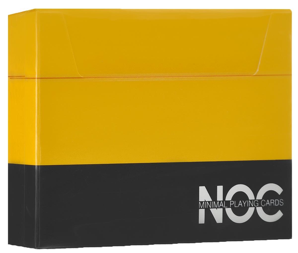 Игральные карты HOPC NOC V3 Deck, цвет: желтыйК-381Яркая, простая и элегантная колода HOPC NOC V3 Deck из серии минималистических карт прекрасно подойдет для любых целей! С каждым изданием авторы карт NOC стараются сделать их лучше и лучше. Дизайн NOC V3 включает в себя самое необходимое, без лишних деталей. Колода имеет изумительный желтый цвет рубашки, обведенный белой окантовкой. Игральные карты HOPC NOC V3 Deck отлично подойдут для фокусов, флоуришей и карточных игр.