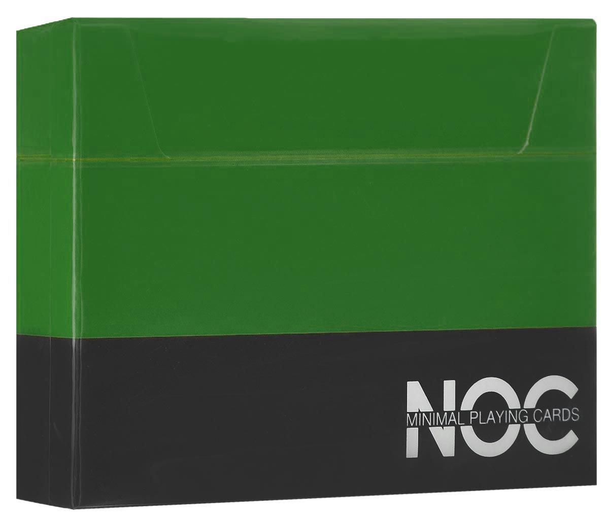 Игральные карты HOPC NOC V3 Deck, цвет: зеленыйК-357Яркая, простая и элегантная колода HOPC NOC V3 Deck из серии минималистических карт прекрасно подойдет для любых целей! С каждым изданием авторы карт NOC стараются сделать их лучше и лучше. Дизайн NOC V3 включает в себя самое необходимое, без лишних деталей. Колода имеет изумительный зеленый цвет рубашки, обведенный белой окантовкой. Игральные карты HOPC NOC V3 Deck отлично подойдут для фокусов, флоуришей и карточных игр.