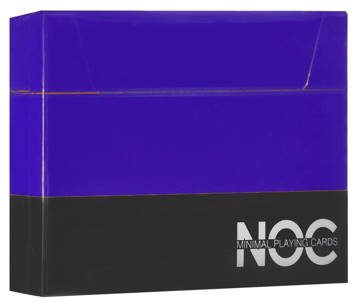 Игральные карты HOPC NOC V3 Deck, цвет: синийК-356Яркая, простая и элегантная колода HOPC NOC V3 Deck из серии минималистических карт прекрасно подойдет для любых целей! С каждым изданием авторы карт NOC стараются сделать их лучше и лучше. Дизайн NOC V3 включает в себя самое необходимое, без лишних деталей. Колода имеет изумительный синий цвет рубашки, обведенный белой окантовкой. Игральные карты HOPC NOC V3 Deck отлично подойдут для фокусов, флоуришей и карточных игр.