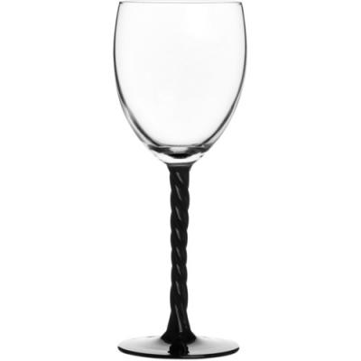 Набор фужеров для вина Luminarc Authentic Black, 250 мл, 3 штH4Набор Luminarc Authentic Black состоит из трех фужеров, выполненных из прочного стекла. Изделия оснащены высокими рельефными ножками и предназначены для подачи вина. Они сочетают в себе элегантный дизайн и функциональность. Благодаря такому набору пить напитки будет еще вкуснее. Набор фужеров Luminarc прекрасно оформит праздничный стол и создаст приятную атмосферу за романтическим ужином. Такой набор также станет хорошим подарком к любому случаю. Можно мыть в посудомоечной машине. Диаметр фужера (по верхнему краю): 6,5 см. Высота фужера: 20 см.
