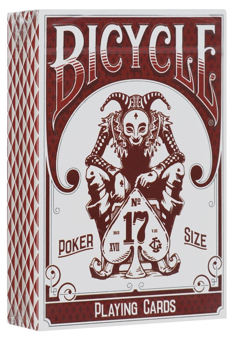 Игральные карты Bicycle Stockholm 17, цвет: красный, белый, черныйК-563Bicycle Stockholm 17 - это особое издание карт Bicycle, выпущенных на фабрике USPCC в США. Карты выполнены из высококачественного картона. Текст в форме круга является частью Энеиды - латинской эпической поэмы, который был написан между 29 и 19 веками до нашей эры. В поэме рассказывается история про трояна Энея, который путешествовал в Италию и стал родоначальником римлян. Карты порадуют своим дизайном даже искушенных коллекционеров. Каждая деталь в колоде проработана с особой четкостью и вниманием.