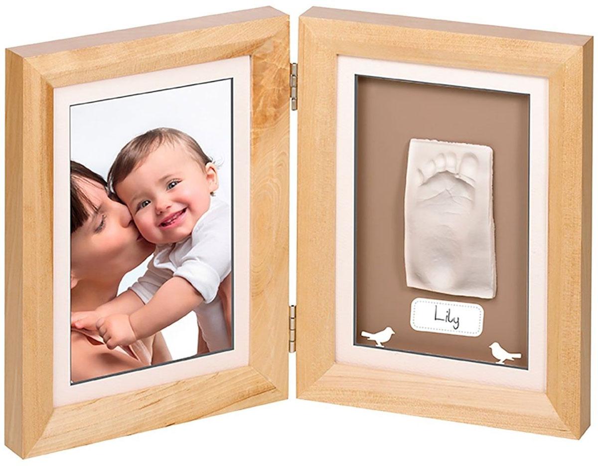 Набор для изготовления слепка Baby Art Print, с двойной рамкой, цвет: натуральный34120068С помощью набора Baby Art Print вы сможете создать очаровательный подарок на память, который вы будете беречь долгие годы. Набор Baby Art Print прост в использовании: каждый может сделать шедевр, и это займет всего несколько минут. Масса для создания слепка - удивительно мягкий высококачественный экологически чистый материал, не вызывающий аллергических реакций. В комплект входит двойная рамка для слепка и фотографии.