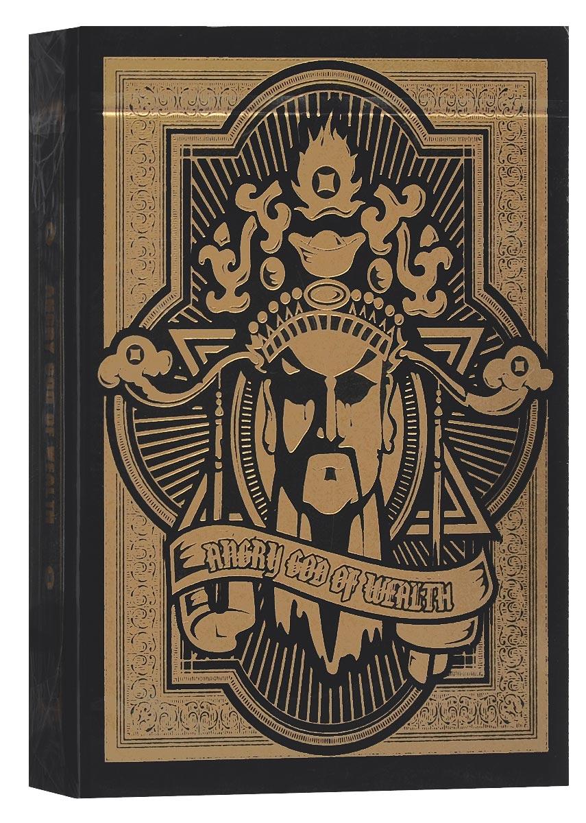 Игральные карты Nanswer Magic Angry God of Wealth, цвет: черный, золотистыйК-322Колода игральных карт Nanswer Magic Angry God of Wealth, вдохновленная китайскими фресками, выполнена из высококачественного картона и отличается эффектным дизайном. Карты превосходно подойдут как для игры, так и для личной коллекции.