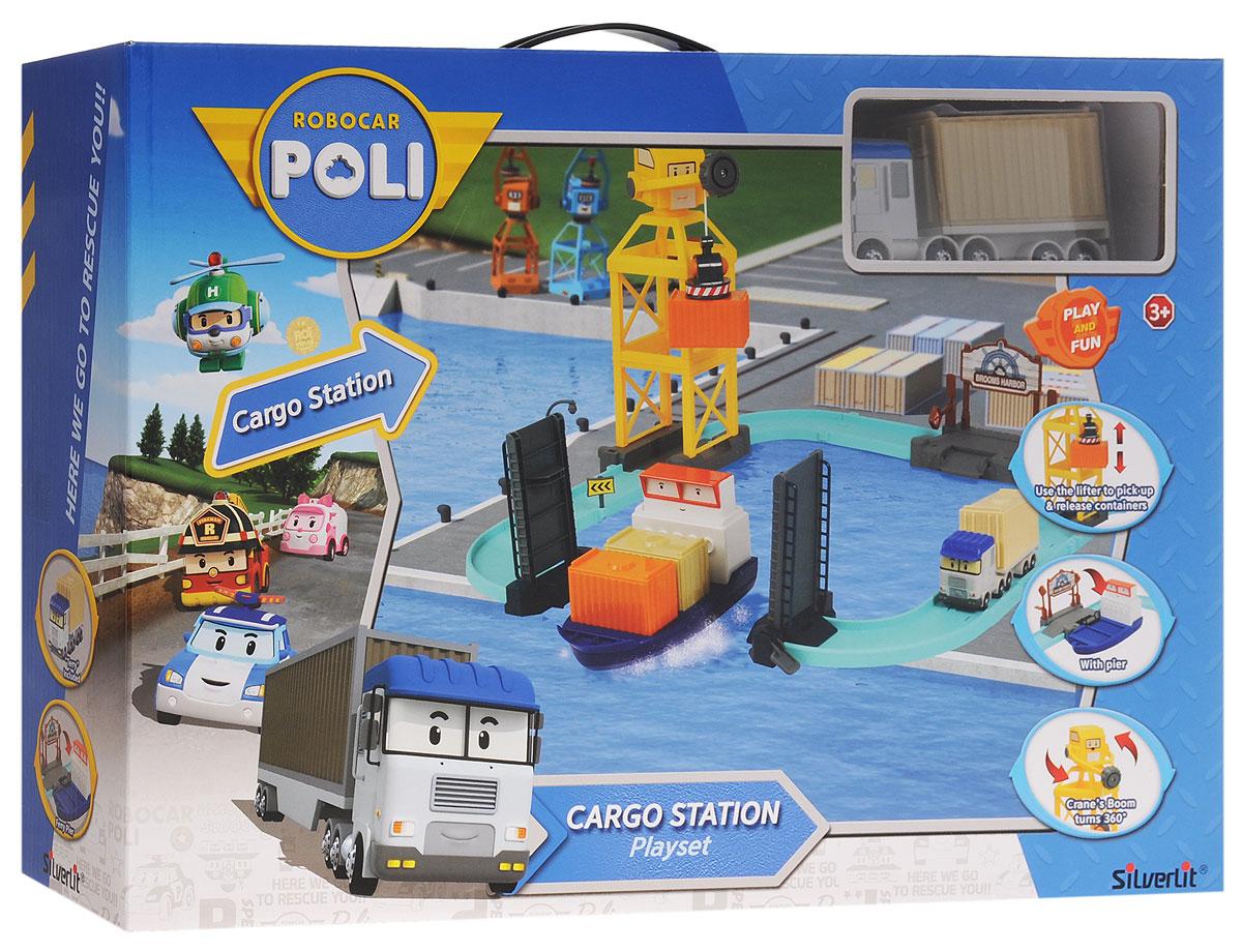 Robocar Poli Игровой набор Порт с разводным мостом83083Игровой набор Robocar Poli Порт с разводным мостом создан специально для маленьких гонщиков. В набор входят: машинка Терри, трек, погрузочный кран, пирс с лодкой, мост, 2 дорожных знака, фонарь, 4 контейнера, 2 ограждения и вкладыш с наклейками для украшения трека. Машинка оснащена инерционным механизмом: потяните ее назад. А затем отпустите - и она быстро поедет вперед. Башня подъемного крана вращается на 360 градусов, а чтобы поднять или опустить груз, достаточно покрутить колесико на кране. Поднимите разводной мост, чтобы лодка смогла проплыть в гавань, а затем присоедините к ней ступеньку, чтобы машинка въехала на борт. Въезд в порт дополнен поднимающимся шлагбаумом. Игровой набор Robocar Poli Порт с разводным мостом подарит вашему ребенку массу впечатлений и поспособствует развитию внимания и реакции. Ваш ребенок будет в восторге от такого подарка!