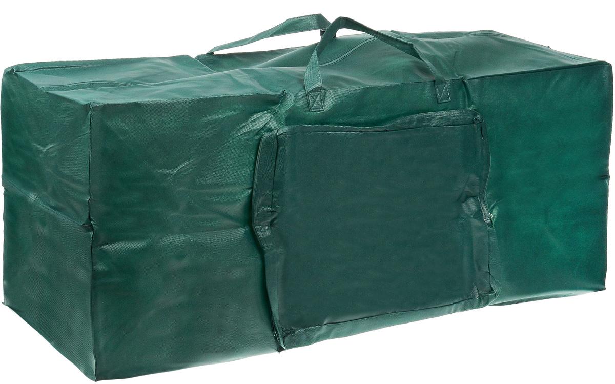 Чехол для хранения искусственной елки Gardman, 120 см х 33 см х 48 см34205XSПлотный чехол Gardman, изготовленный из нетканого материала, прекрасно подойдет для транспортировки и хранения искусственной ели. Он отлично защитит ее от выгорания, пыли и позволит сохранить ее привлекательный вид на долгие годы. Чехол имеет два кармана на молнии, один - для елки, второй - для гирлянд и декораций. Приобретая чехол Gardman, вы получаете существенную возможность облегчить организацию рождественских праздников. Достаточно просто вытащить искусственную елку из меша и установить ее на новогодние праздники.
