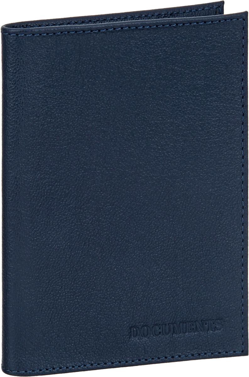 Обложка для автодокументов мужская Fabula Largo, цвет: темно-синий. BV.1.LGBV.1.LGОбложка для автодокументов Fabula Largo выполнена из натуральной кожи с зернистой фактурой и оформлена тиснением с символикой бренда. Изделие раскладывается пополам. Внутри размещен вкладыш из прозрачного ПВХ, который содержит шесть файлов для документов. Изделие поставляется в фирменной упаковке. Стильная обложка для автодокументов Fabula Largo станет отличным подарком для человека, ценящего качественные и практичные вещи.