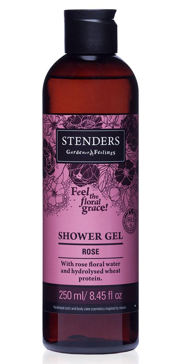 Stenders Гель для душа Розовый, 250 млSGRЭтот ароматный, насыщенный цветочным великолепием гель для душа изо дня в день будет бережно очищать вашу кожу, делая ее нежной и гладкой. Для заботы о красоте кожи мы дополнили его розовой цветочной водой, обладающей успокаивающим воздействием, и гидролизованными протеинами пшеницы. Розовый аромат воздушной пены подарит вам ощущение элегантности и романтичности. Розовая цветочная вода - Цветочная вода является ценным побочным продуктом процесса дистилляции эфирных масел. Каждая капля цветочной воды содержит все свойства эфирного масла растения. Розовая цветочная вода - самая излюбленная среди всех видов цветочной воды, благодаря ее королевскому аромату и ценным свойствам. Розовая вода балансирует выработку себума, поэтому она подходит как для сухой, так и для жирной кожи. Пшеничные протеины - Пшеница столетиями служила людям в качестве ценного полезного источника питания. Протеинам, входящим в ее состав, присущи свойства, которые позволяют использовать их для...