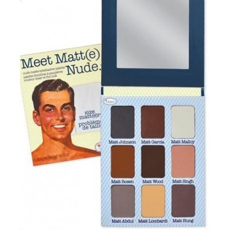 theBalm Палетка теней Meet Matt(e) Nude,42,1 гр802232Meet Matte Nude от The Balm создана для безупречного, абсолютно матового макияжа глаз без блеска и мерцания. Универсальная палетка матовых оттенков теней от американского бренда The Balm. 9 оттенков подойдут как для дневного, так и для вечернего макияжа. Красивая, стильная и неповторимая картонная упаковка с зеркалом и высочайшее качество теней будет радовать тебя каждый день! В эту палетку невозможно не влюбиться!