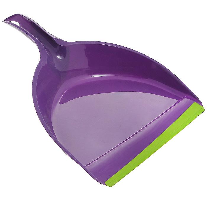 Совок York Prestige, с резиновым краем, цвет: фиолетовый6107Совок York Prestige, выполненный из пластика, предназначен для сбора мусора и пыли при уборке помещений. Он оснащен эргономичной ручкой с петлей, которая позволит повесить изделие на крючок. Благодаря резиновому краю совка, в него легко сметать грязь и мусор. Размер рабочей части: 22,5 см х 18 см. Длина ручки: 12 см. Уважаемые клиенты! Обращаем ваше внимание на возможные варьирования в цветовом дизайне товара. Поставка возможна в зависимости от наличия на складе.