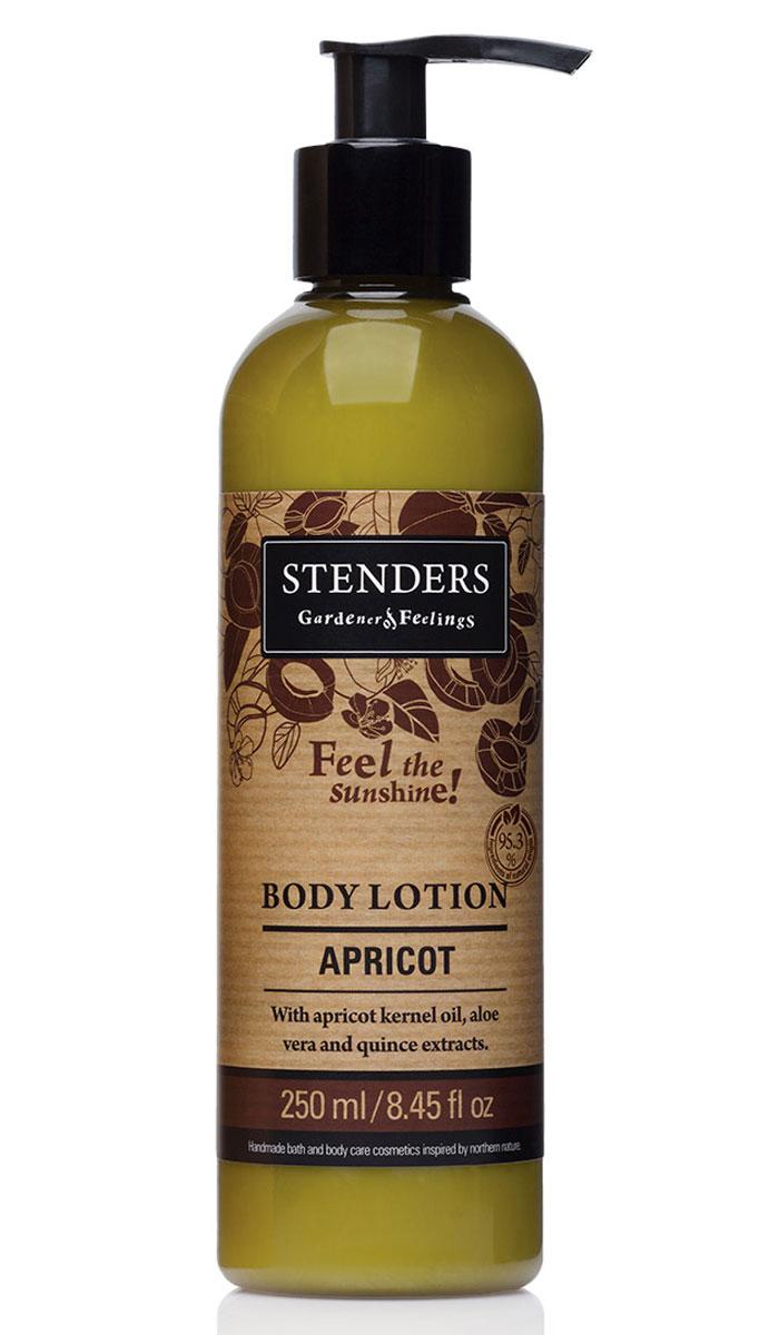 Stenders Лосьон для тела Абрикос, 250 млLBAЭтот легкий лосьон для тела мгновенно впитывается в кожу, способствуя сохранению необходимого уровня влажности вашей кожи в каждой клеточке. Ощутите, как масло абрикосовых косточек смягчает и разглаживает вашу кожу. Солнечный аромат абрикоса освежит вас, как дуновение легкого летнего ветерка. Сок алоэ является одним из самых сильных природных увлажнителей. Кроме того, он обладает выраженным противовоспалительным, противомикробным, ранозаживляющим и десенсибилизирующим действием (снимает аллергические реакции). Повышает резистентность кожи к воздействию УФ-излучения. Масло абрикосовых косточек придаст коже здоровый и сияющий внешний вид. Ши масло тщательно питает, увлажняет, смягчает кожу и задерживает ее старение. Этому маслу присуща способность глубоко впитываться в кожу, длительно питая и защищая ее. В экстракте солнечной цидонии (айвы) сокрыто множество минеральных веществ и витаминов, поэтому мы его добавляем и в свои продукты. Своим балансирующим эффектом он помогает жирной...