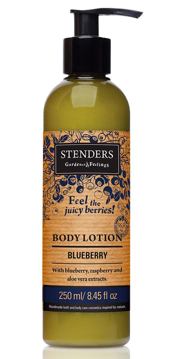 Stenders Лосьон для тела Черника, 250 млLBBНаш легкий лосьон для тела содержит экстракты черники, малины и алоэ, он тщательно увлажнит вашу кожу, делая ее нежной и гладкой. Он чрезвычайно быстро впитывается в кожу, придавая коже сочный и сладкий аромат ягод. Ягоды темно-синей черники – настоящее воплощение здорового состояния. Они содержат органические кислоты, витамин С, микроэлементы и другие полезные вещества. Экстракт черники с легким стягивающим эффектом положительно воздействует на вашу кожу.