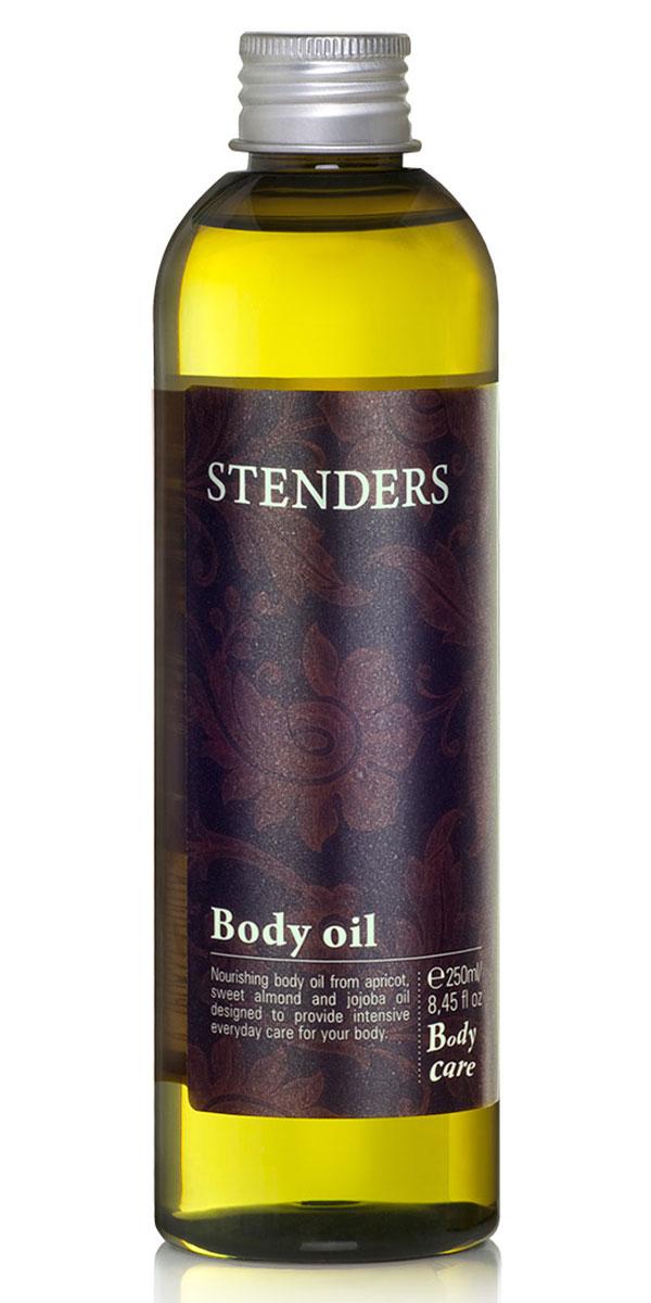 Stenders Масло для тела (смесь масел абрикос, жожоба, миндаль), 250 млEK001Композиция из трех высококачественных натуральных масел, созданная мастерами нашей лаборатории, чтобы день за днем эффективно питать вашу кожу. Почувствуйте, как масло жожоба обновляет, масло абрикосовых косточек смягчает, а масло сладкого миндаля разглаживает вашу кожу, пробуждая мягкое сияние красоты. Каждый день создавайте для себя новый букет ощущений, дополняя масло для тела эфирными маслами по своему выбору. Не содержит минеральных масел. Масло абрикосовых косточек питает волосы, придавая им блеск. Оптимизирует уровень влажности кожи головы, делая растущие волосы сильными и густыми.