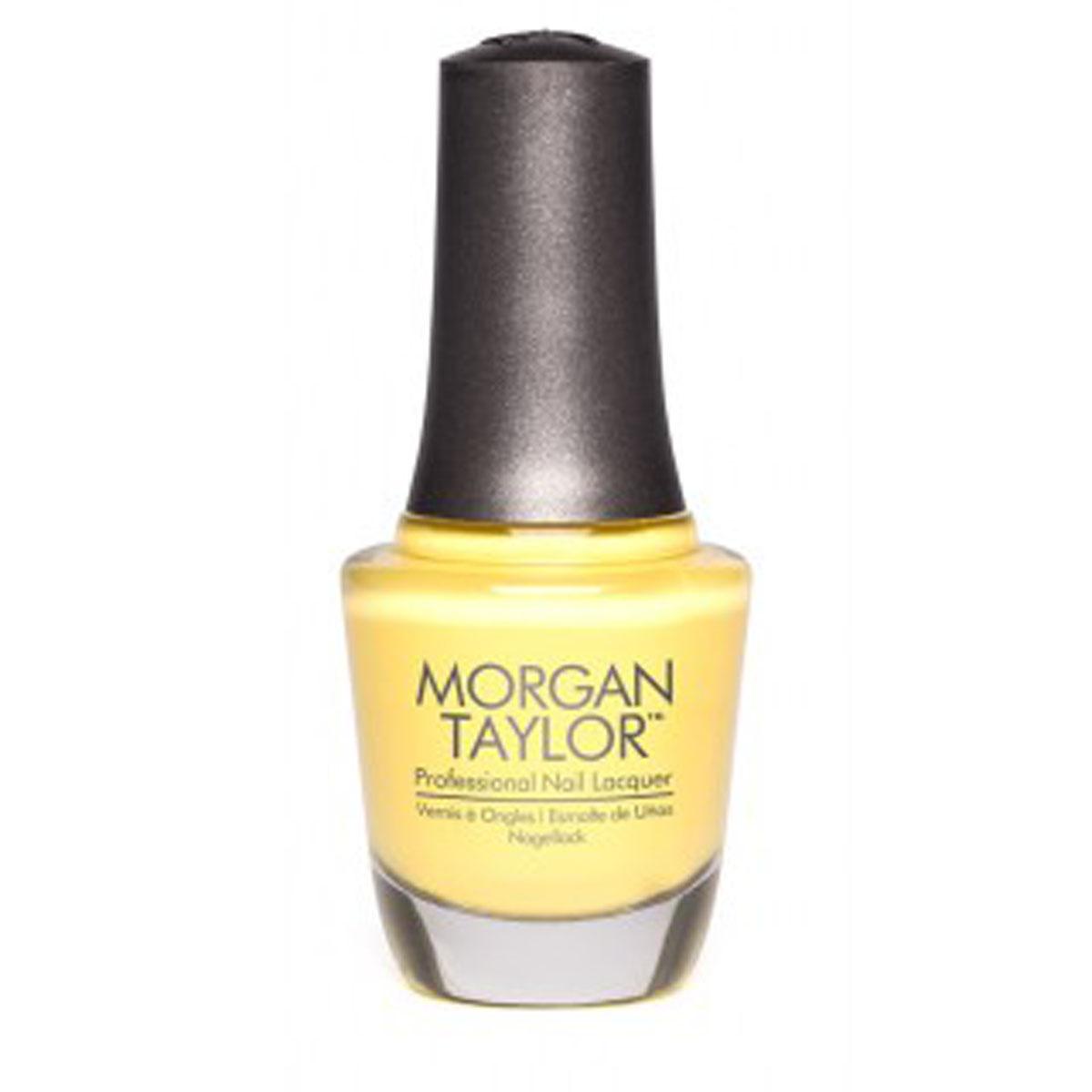 Morgan Taylor Лак для ногтей Doo Wop/Подпевай мне, 15 мл50131Плотная ярко-желтая эмаль. Эксклюзивная коллекция Morgan Taylor™ насыщена редкими и драгоценными составляющими. Оттенки основаны на светящихся жемчужинах, оловянных сплавах, мерцающем серебре и лучезарном золоте. Все пигменты перетерты в мельчайшую пыль и используются без разбавления другими красителями: в итоге лак получается благородным и дорогим. Наша обязанность перед мастером маникюра — предложить безопасное профессиональное цветное покрытие. Именно поэтому наши лаки являются BIG3FREE: не содержат формальдегида, толуола и дибутилфталата. В работе с клиентом лак должен быть безупречным — от содержимого флакона до удобства нанесения. Индивидуальный проект и дизайн — сочетание удобства в работе и оптимального веса флакона. Кристально-прозрачное итальянское стекло — это качество стекла позволяет вам видеть цвет лака без искажений, поэтому вопрос выбора цветного покрытия клиентом и мастером решается быстро и с легкостью. Удобный колпачок — воздушный, почти невесомый, он будто...