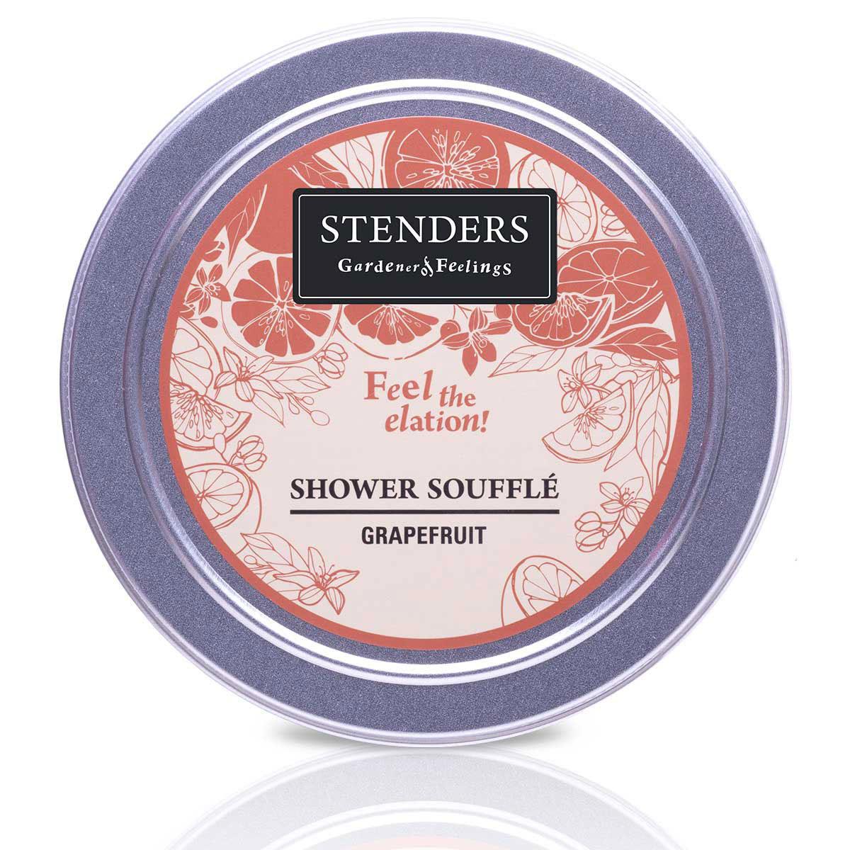 Stenders Мусс для душа Грейпфрутовый, 110 гDZ001Эта легкая кремовая пена очищает кожу нежнейшими прикосновениями. Это исключительная возможность насладиться удовольствием от купания. Почувствуйте, как жизнеутверждающий аромат эфирного масла грейпфрута вдохновляет вас по-настоящему наслаждаться жизнью. Этот мусс бережно относится к вашей коже – его ph 5,5 и он не содержит парабенов и сульфатов. PH - нейтральный мягкий воздушный мусс для мытья тела. Грейпфрутовому эфирному маслу присуща солнечная и оживляющая сила, которая взбодрит как тело, так и дух. Кроме того, оно может помочь улучшить структуру вашей кожи. Глицерин – это органическое соединение с увлажняющим и смягчающим кожу воздействием. Кроме того, ему присуща способность привлекать влагу из воздуха.