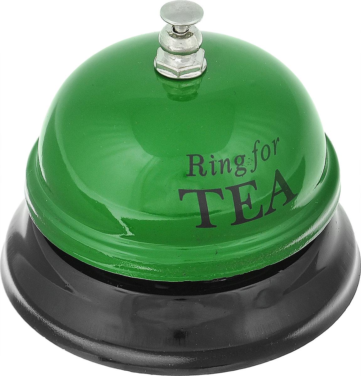 Звонок настольный Эврика Ring For Tea95089Механический настольный звонок Эврика Ring For Tea изготовлен из металла. С его помощью вы можете оповещать ваших близких о своих желаниях. Этот звонок будет отличным подарком, который принесет хорошее настроение.
