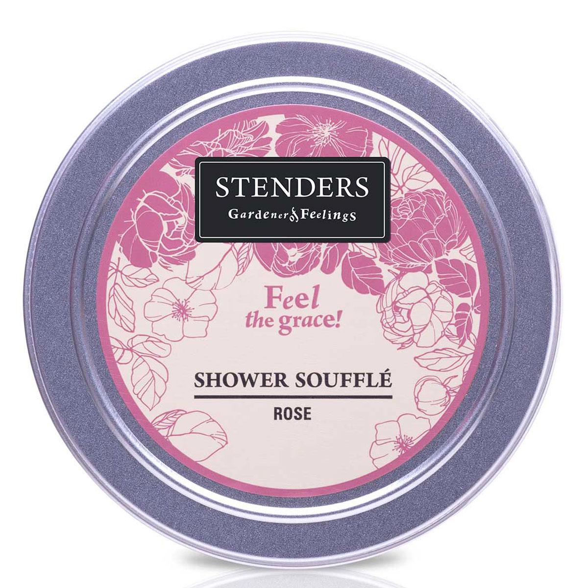 Stenders Мусс для душа Розовый, 110 гDZ002Это легкая кремовая пена очищает кожу так нежно, словно прикосновение лепестков роз. Это утонченный способ наслаждаться мягким купанием. Почувствуйте, как королевский аромат эфирного масла розы создает утонченную и изящную атмосферу. Этот мусс бережно относится к вашей коже - его ph 5,5 и он не содержит парабенов и сульфатов PH - нейтральный мягкий воздушный мусс для мытья тела. Питательное масло сладкого миндаля великолепно в косметике, поскольку является полезным даже для самой чувствительной кожи. Оно абсолютно легко впитывается в вашу кожу, смягчая ее. Розовое эфирное масло получают методом дистилляции пара из лепестков розы. Для него характерен опьяняющий, чудесный аромат зрелых цветов. Розовое эфирное масло помогает снять возбуждение. Кроме того, оно пробуждает в вас особо утонченные чувства. Глицерин – это органическое соединение с увлажняющим и смягчающим кожу воздействием. Кроме того, ему присуща способность привлекать влагу из воздуха.