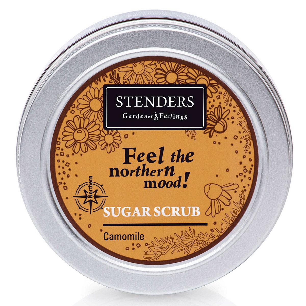Stenders Сахарный скраб Северная ромашка, 250 гCK02144Этот скраб для тела с кристаллами сахара, дарящий энергию, очистит вас от ежедневной городской пыли. Цветки ромашки приятно массируют вашу кожу, клеточка за клеточкой возвращая ей упругость. Для мгновенного смягчения вашей кожи мы добавили ценные натуральные масла. Почувствуйте мягкую заботу ромашки северных лугов о вашей красоте. Масло абрикосовой косточки богато витамином А и минеральными веществами, которые смягчают и увлажняют. С каждым прикосновением масло бережно ухаживает за вашей кожей, снижая риск появления морщинок. Масло абрикосовых косточек придаст коже здоровый и сияющий внешний вид. Масло виноградных косточек особенно хорошо тем, что содержит ненасыщенные жирные кислоты в большой концентрации. Оно придаст жизненную силу вашей коже, тщательно увлажняя и смягчая ее. Питательное масло сладкого миндаля великолепно в косметике, поскольку является полезным даже для самой чувствительной кожи. Оно абсолютно легко впитывается в вашу кожу, смягчая ее.