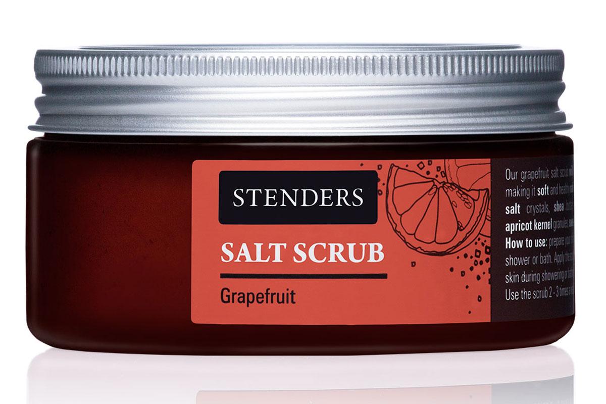 Stenders Солевой скраб Южный грейпфрут, 300 гSK01152Этот бодрящий скраб для тела с кристаллами соли пробудит вас от монотонности ежедневной городской жизни. Он энергично массирует вашу кожу, помогая сохранить ее упругость. Для одновременного смягчения вашей кожи и придания ей бархатистости мы добавили ценные натуральные масла. Почувствуйте, как бодрящее масло грейпфрута вносит оживление в вашу повседневность. Питательное масло сладкого миндаля великолепно в косметике, поскольку является полезным даже для самой чувствительной кожи. Оно абсолютно легко впитывается в вашу кожу, смягчая ее. Ши масло - Из всех масел, которые можно найти в природе, именно масло ши кажется нам наиболее ценным. Оно тщательно питает, увлажняет, смягчает кожу и задерживает ее старение. Этому маслу присуща способность глубоко впитываться в кожу, длительно питая и защищая ее. Высокоценное масло жожоба глубоко питает вашу очень сухую кожу, заботясь о ее эластичности. Почувствуйте, как ваша кожа мгновенно приобретает мягкость и гладкость. Грейпфрутовому эфирному...