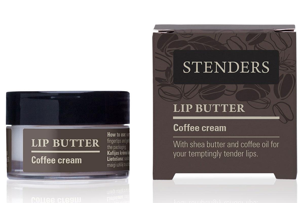 Stenders Масло для губ Кофе-крем, 7 гSVL_03Масло для губ «Кофе-крем» увлажнит и разгладит ваши губы, чтобы они стали нежными, как крем. Ощутите, как легко натуральное масло ши наносится на ваши губы, питая и успокаивая их. Манящий аромат кофейного крема станет вашим ежедневным сладким соблазном, которому захочется поддаться вновь и вновь. 0% минерального масла. Масло ши обладает свойством быстро впитываться в кожу, длительное время насыщая и защищая ее, делая кожу шелковисто-гладкой. Превосходно увлажняет, смягчает и восстанавливает кожу, а также задерживает ее старение.