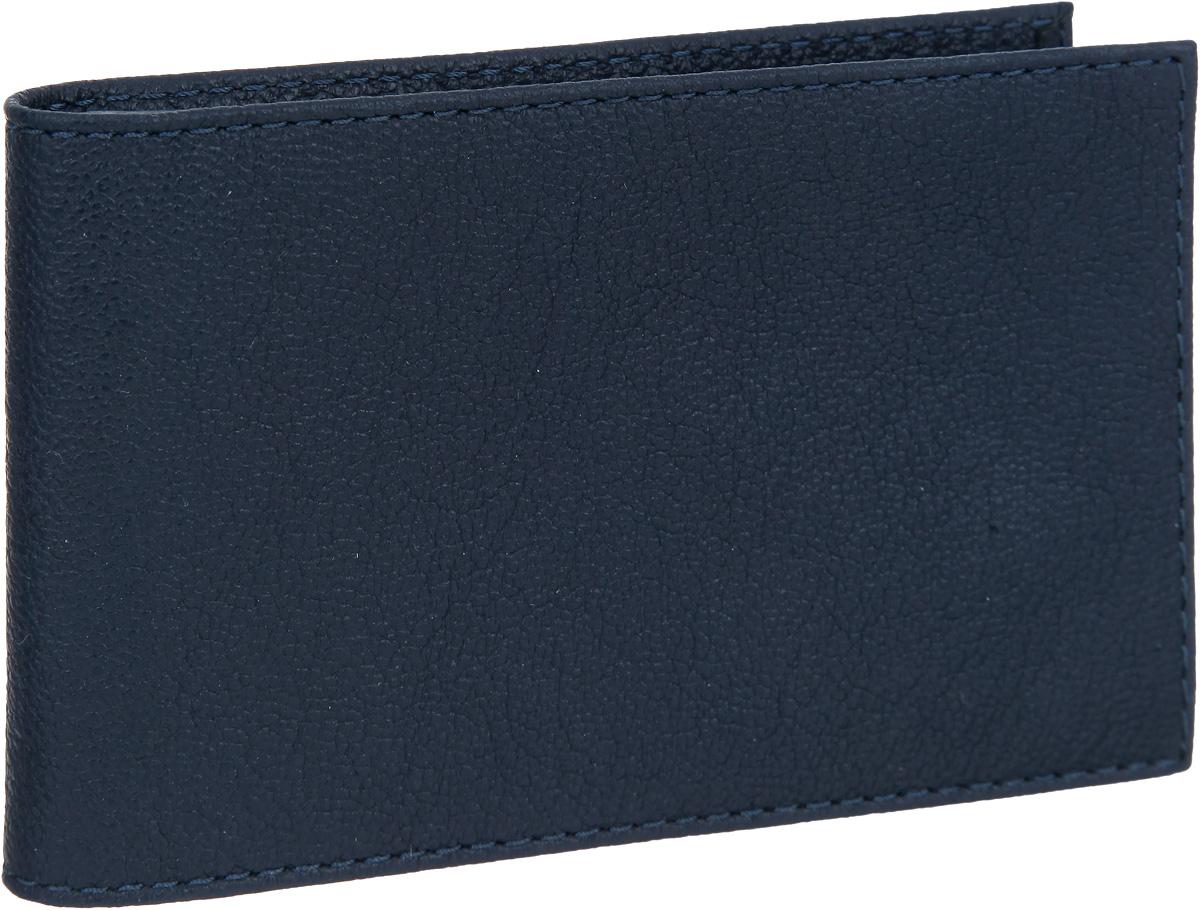 Визитница мужская Fabula Largo, цвет: темно-синий. V.1.LGV.1.LGСтильная горизонтальная визитница Fabula Largo выполнена из натуральной кожи с зернистой фактурой, оформлена тиснением с символикой бренда. Изделие раскладывается пополам. Внутри визитницы расположен вкладыш из прозрачного ПВХ, который включает в себя двадцать файлов для визиток или кредитных карт. Изделие поставляется в фирменной упаковке. Визитница Fabula Largo станет отличным подарком для человека, ценящего качественные и практичные вещи.