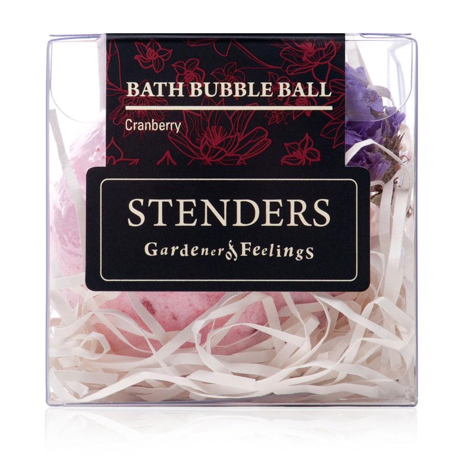 Stenders Бурлящий шар Клюквенный, 125 гSISBB07Ваши любимые бурлящие шары, упакованные в красивую коробку - готовы удивлять и радовать. Этот изготовленный заботливыми руками бурлящий шар для ванны наполнит помещение бодрым ароматом алых ягод, напоминая вам о красоте северной природы. Пока вы наслаждаетесь купанием в ванне, морская соль взбодрит вашу кожу, масло виноградных косточек сделает ее мягкой и гладкой, а ценный экстракт клюквы поможет ей восстановиться. Утонченный дизайнерский аромат в сочетании с эфирным маслом можжевельника украсит помещение и вашу кожу запахами северного леса. Уникальный состав клюквы придает ее экстракту очень ценные свойства: он богат витамином С и антиоксидантами и стимулирует естественные процессы обновления кожи. Масло виноградных косточек особенно хорошо тем, что содержит ненасыщенные жирные кислоты в большой концентрации. Оно придаст жизненную силу вашей коже, тщательно увлажняя и смягчая ее. Кристаллы соли моря богаты ионами кальция, калия и натрия. Эти вещества очистят вашу кожу и укрепят...