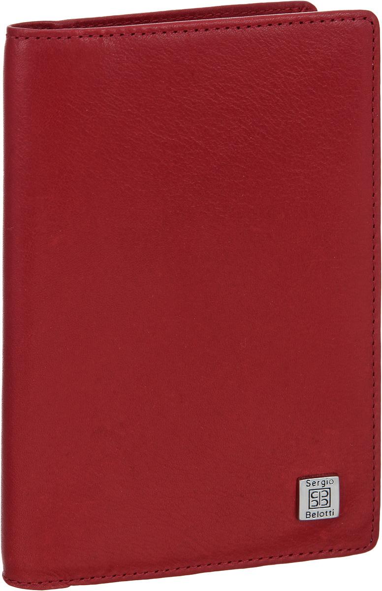 Обложка для автодокументов женская Sergio Belotti, цвет: красный. 14231423 west redОбложка для автодокументов Sergio Belotti выполнена из натуральной кожи с зернистой фактурой и оформлена металлической фурнитурой с символикой бренда. Изделие раскладывается пополам. Внутри размещены два накладных кармана, один из которых сетчатый, и вкладыш, состоящий из шести пластиковых файлов для документов, один из которых формата А5. Изделие поставляется в фирменной упаковке. Стильная обложка для автодокументов Sergio Belotti станет отличным подарком для человека, ценящего качественные и практичные вещи.