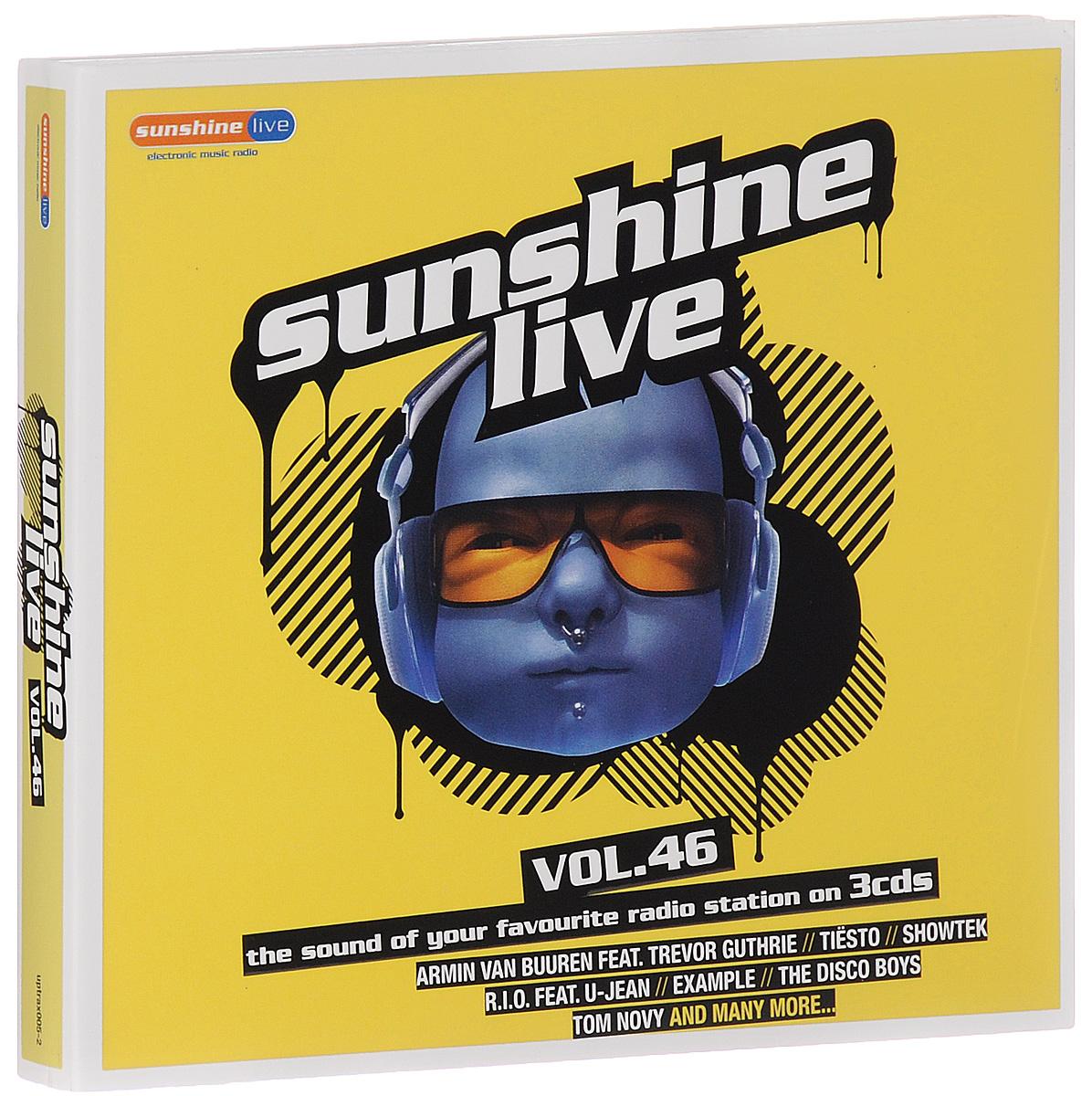 Sunshine Live. Volume 46 (3 CD)