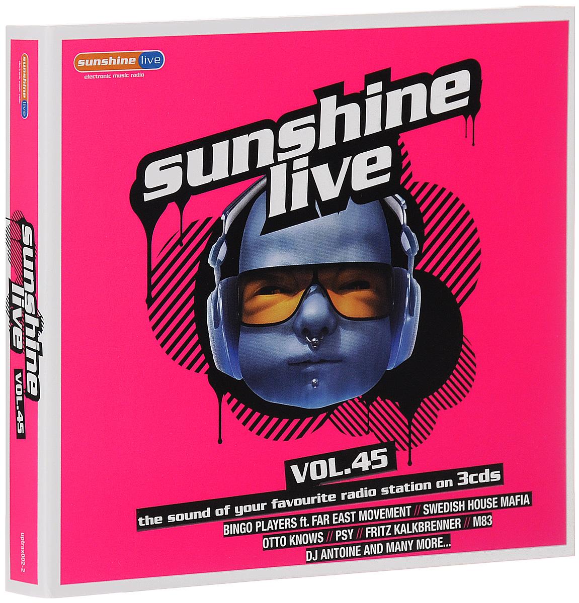 Sunshine Live. Volume 45 (3 CD) 2013 3 Audio CD