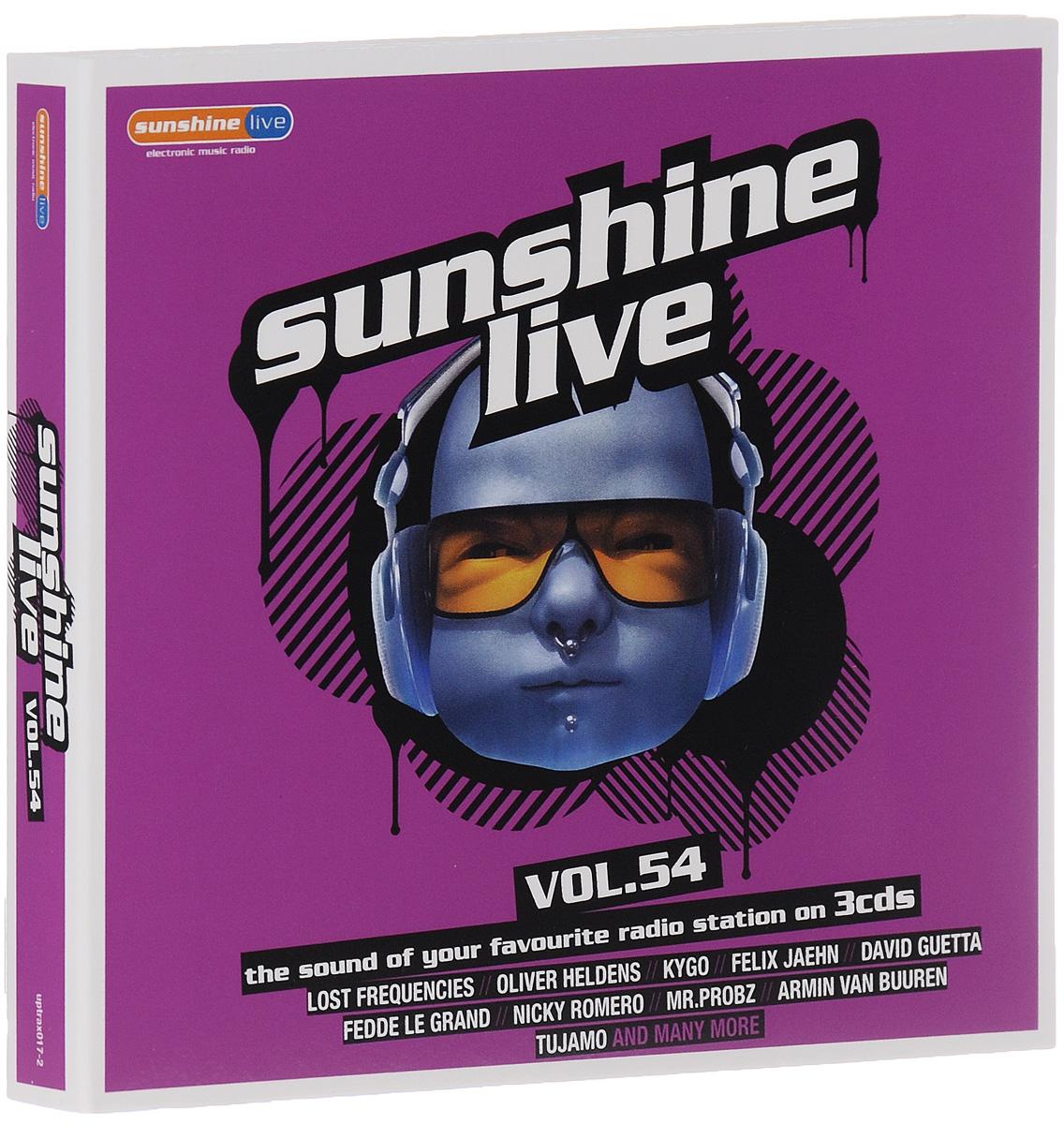 Sunshine Live. Volume 54 (3 CD)