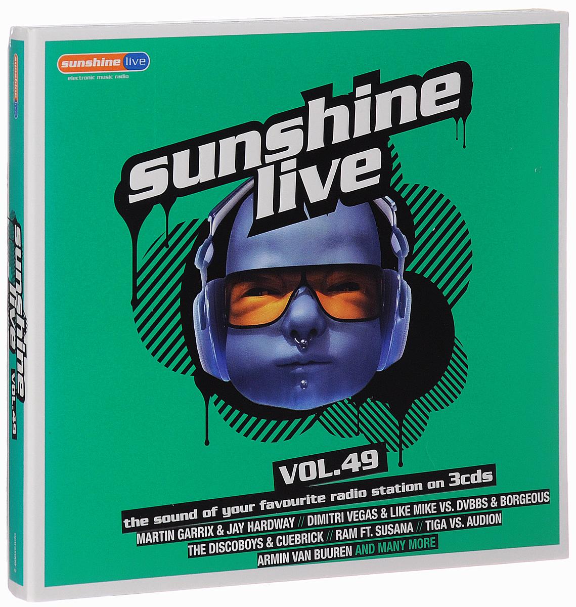 Sunshine Live. Volume 49 (3 CD) 2014 3 Audio CD
