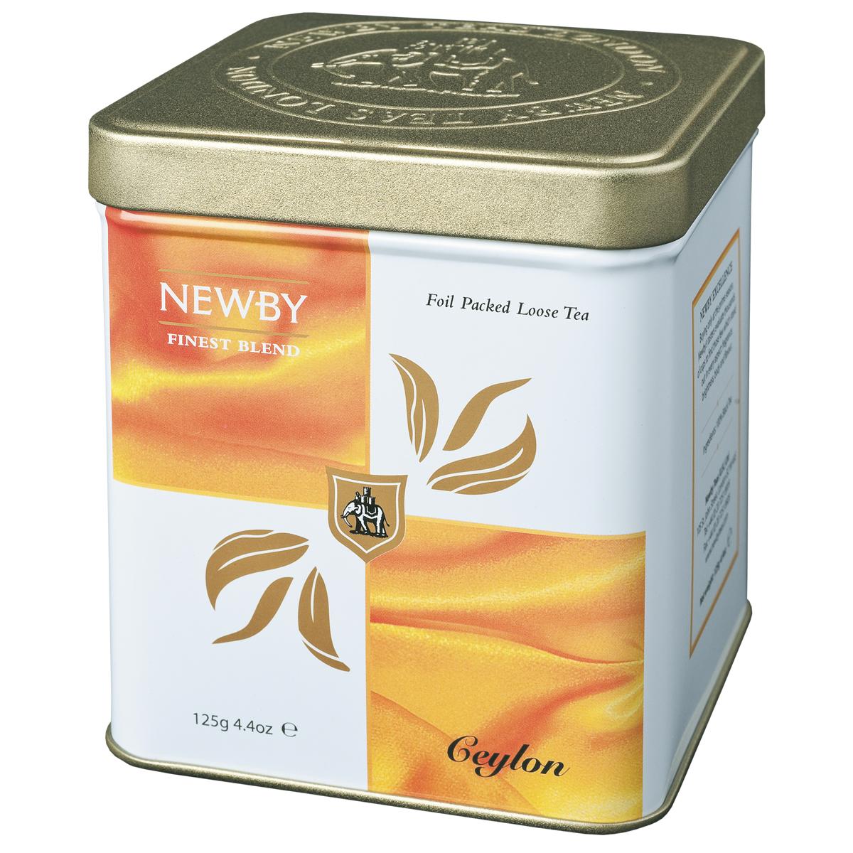 Newby Ceylon черный листовой чай, 125 г130030Чай Newby Ceylon с высокогорных плантаций Острова пряностей Шри-Ланки. Яркая чашка чая с живым пряным послевкусием.