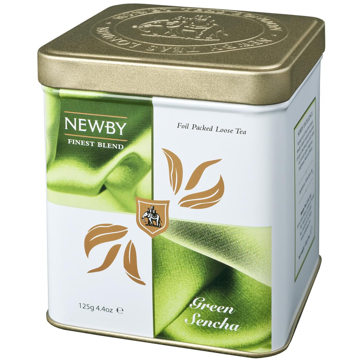 Newby Green Sencha зеленый листовой чай, 125 г130080Собранные ранней весной, чайные листья самого популярного сорта зеленого чая Newby Green Sencha обрабатываются паром, что позволяет сохранить их первозданную свежесть. Обладает насыщенным превосходным ароматом риса.