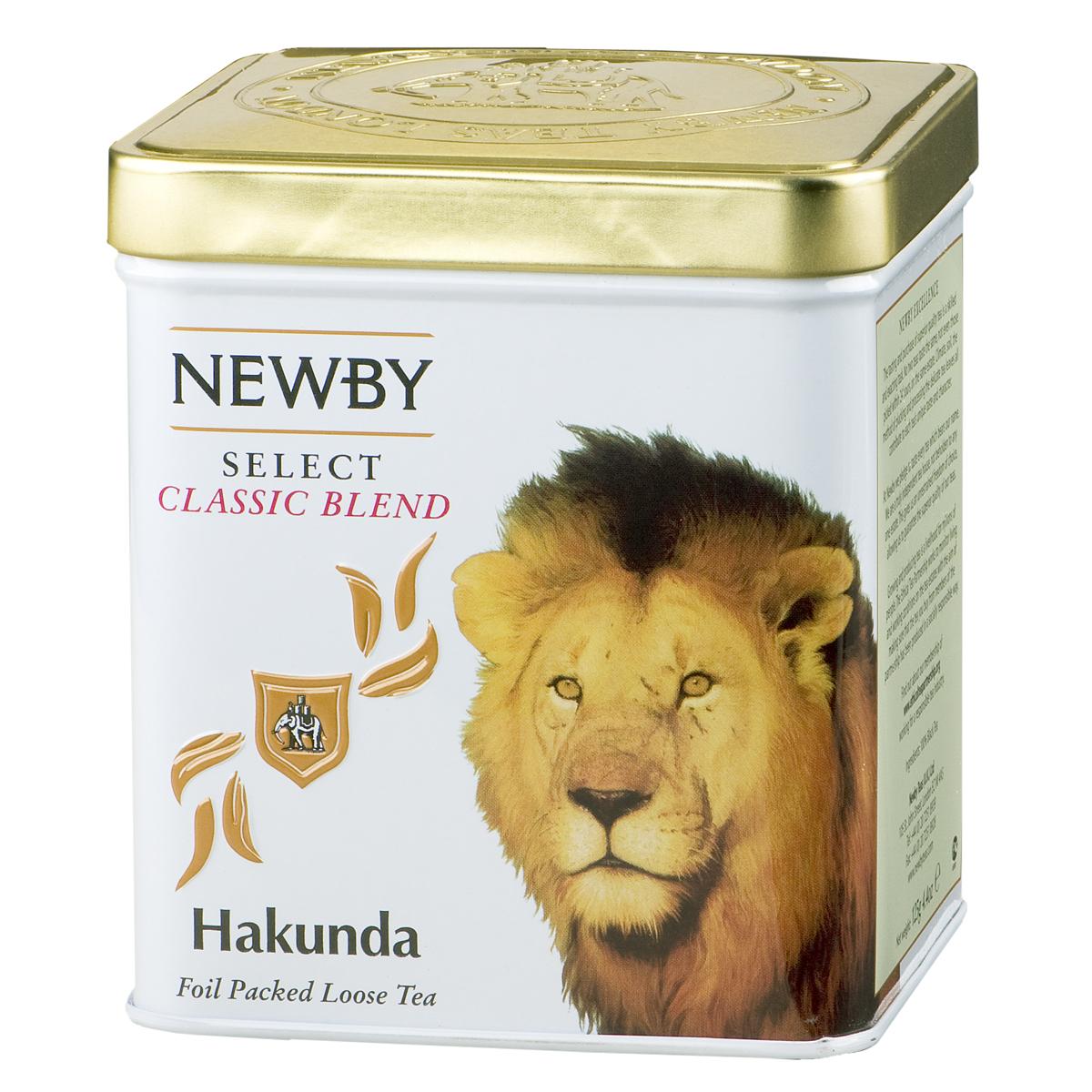 Newby Hakunda черный листовой чай, 125 г130870Крупнолистовой чай Newby Hakunda с африканского нагорья Керичо с золотистыми типсами. Мягкий, насыщенный и яркий настой с солодовым послевкусием.