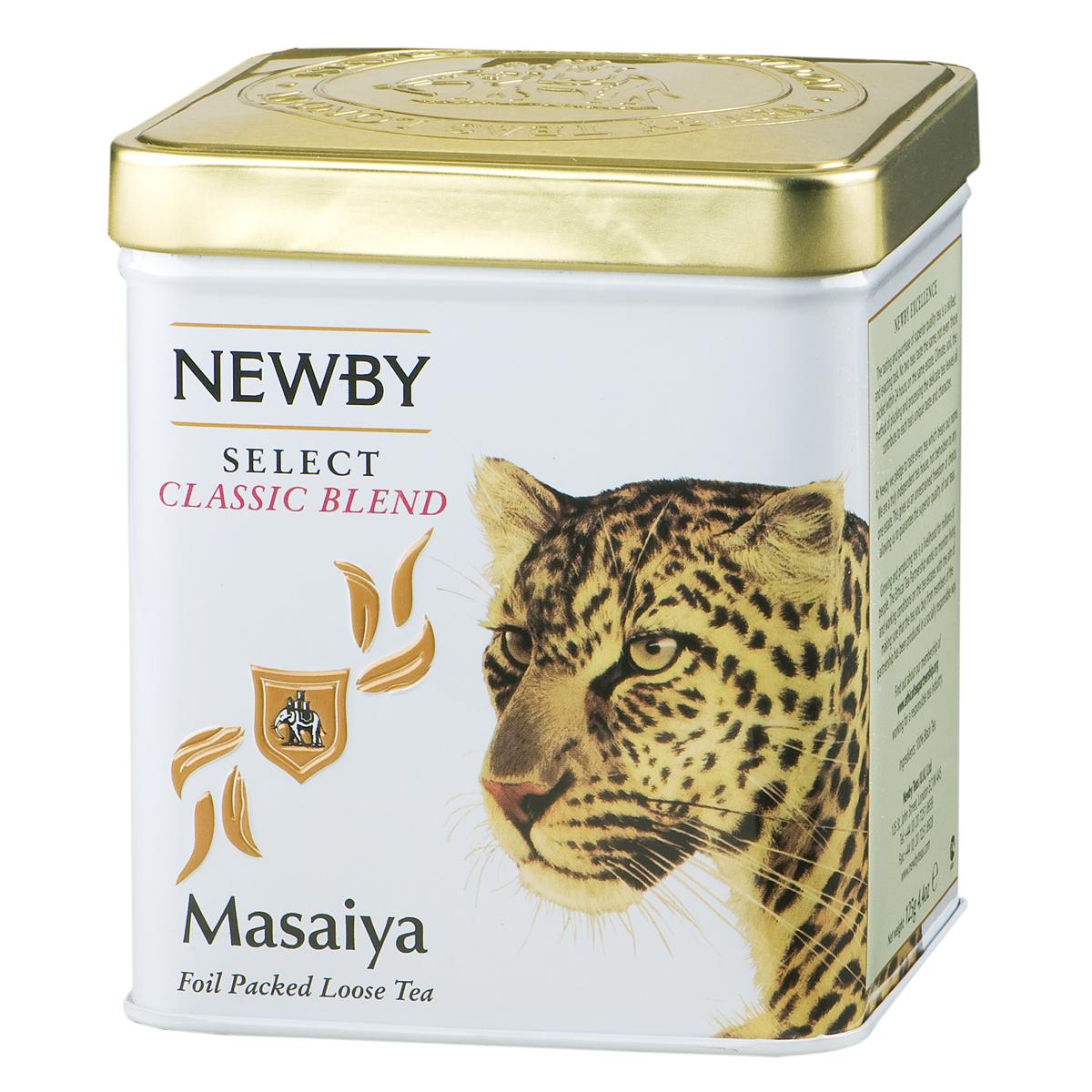 Newby Masaiya черный листовой чай, 125 г130880Среднелистовой африканский чай Newby Masaiya с золотистыми типсами. Крепкая, яркая чашка с потрясающим вкусом и богатым послевкусием.