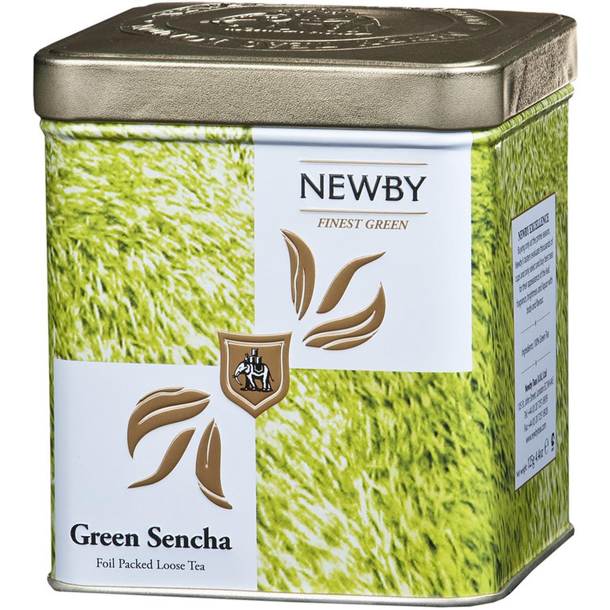 Newby Green Sencha Safari зеленый листовой чай, 125 г132080Собранные ранней весной, чайные листья этого самого популярного сорта зеленого чая Newby Green Sencha Safari обрабатываются паром, что позволяет сохранить их первозданную свежесть. Обладает насыщенным превосходным ароматом риса.