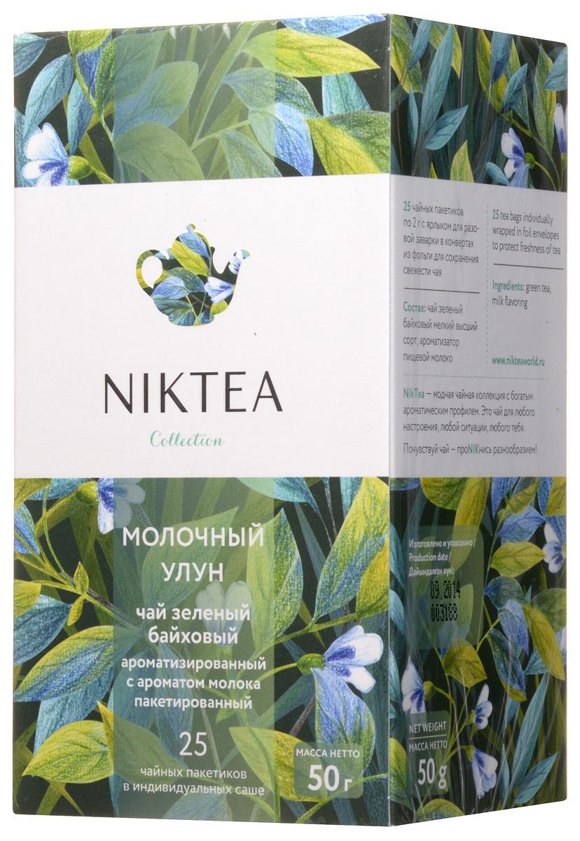 Niktea Milk Oolong чай зеленый в пакетиках, 25 штTALTHA-DP0036Niktea Milk Oolong - изысканный улун с шелковистым сливочным вкусом и гармоничными нюансами зелени, меда и утренних цветов. Универсальный чай, подходит к легким закускам и полноценным блюдам. Коллекция NikTea разработана командой экспертов, имеющих богатый опыт в чайной индустрии. Во время ее создания выбирались самые надежные поставщики из Европы и стран происхождения чая, а в линейку включили не только топовые аутентичные позиции, но и новые интересные рецептуры в традициях современной чайной миксологии. NikTea - это действительно качественный чай. Для истинных ценителей мы предлагаем безупречное качество: отборное сырье, фасовку на высокотехнологичном производственном комплексе в России, постоянный педантичный контроль готового продукта, а также сертификацию сырья по международным стандартам. NikTea - это разнообразие. В линейках листового и пакетированного чая представлены все основные группы вкусов - от классического черного и...