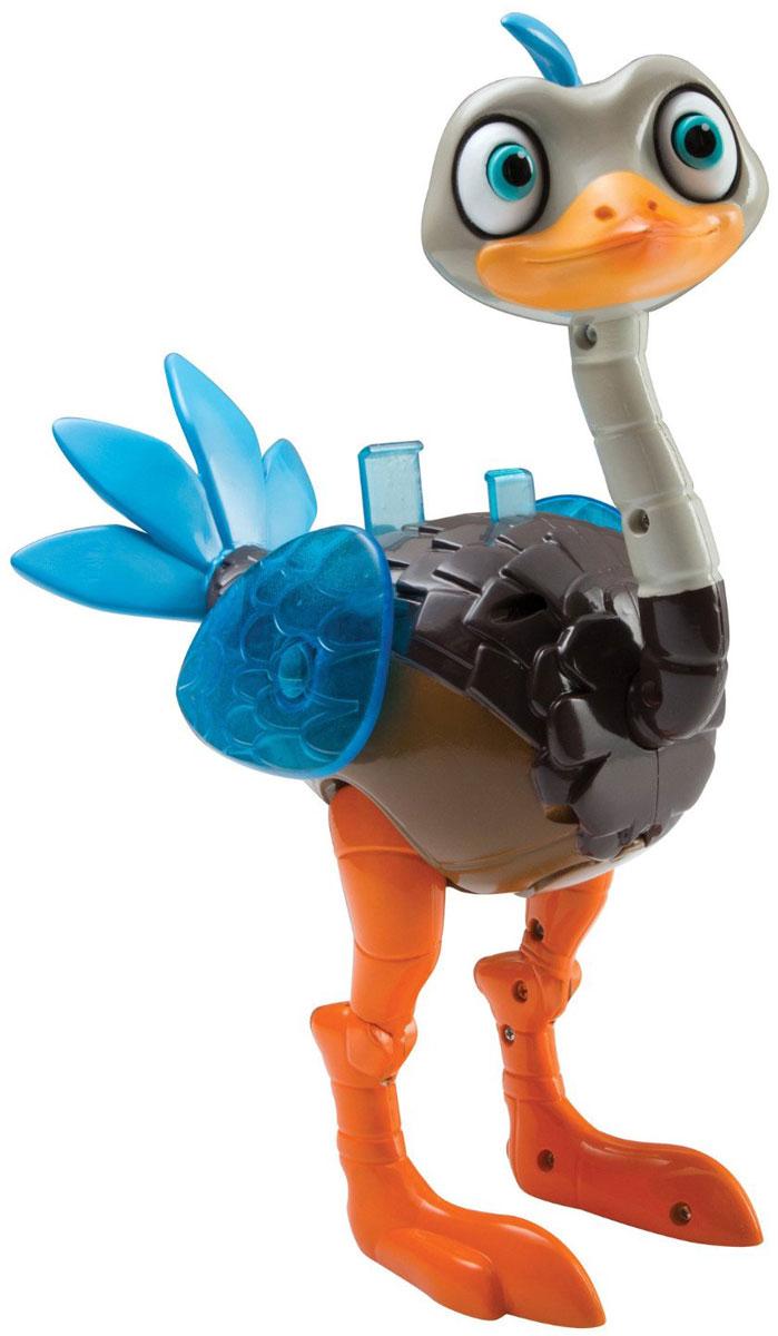 Miles from Tomorrowland Фигурка Страус Мерк 8611486114Фигурка Страус Мерк в точности такой, как и в мультфильме Майлз с другой планеты. Имя Мерк - это аббревиатура, и с английского языка она расшифровывается как механическое эмоционально-восприимчивое создание. Страус Мерк - функциональная игрушка, он может воспроизводить до 15 звуков из мультфильма, а прозрачные крылья могут светиться. Подвижная шея, голова, коленные и тазобедренные суставы. Есть колесики, на которых страуса можно катать. На спину игрушечного страуса можно посадить Майлза (продается отдельно). Когда нажимают на перышки хохолка, то телескопические глаза птички выдвигаются. Ваш ребенок часами будет играть с такой игрушкой, придумывая различные истории. Порадуйте его таким замечательным подарком! Для работы требуются 3 батарейки типа ААА (комплектуется демонстрационными).
