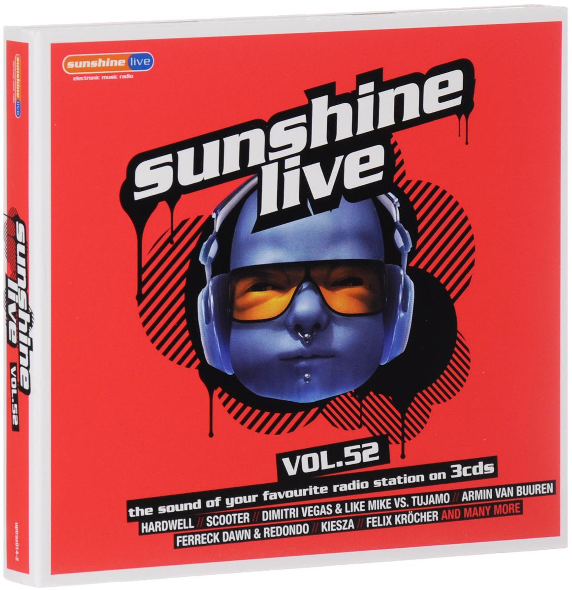 Sunshine Live. Volume 52 (3 CD) 2014 3 Audio CD