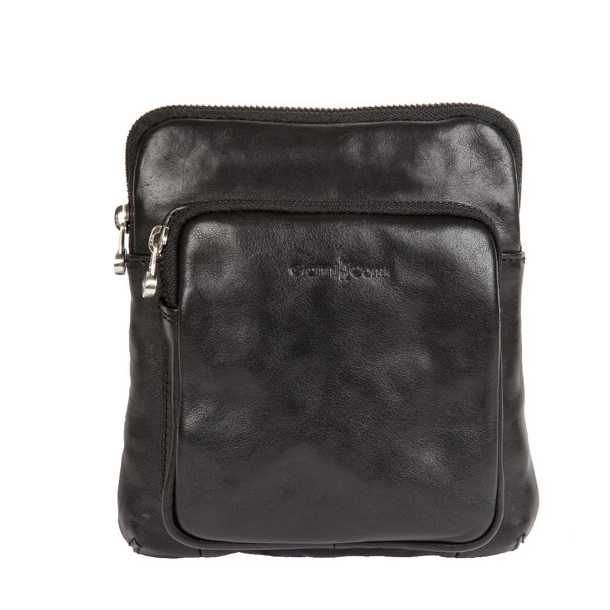 Сумка-планшет мужская Gianni Conti, цвет: черный. 912302912302 blackСтильная мужская сумка-планшет Gianni Conti выполнена из натуральной кожи и оформлена фирменным тиснением. Изделие содержит одно отделение, которое закрывается на застежку-молнию. Внутри изделия находится прорезной карман на застежке-молнии, накладной открытый карман и держатель для авторучки. Снаружи, на передней стенке расположен накладной карман на застежке-молнии. На задней стенке предусмотрен накладной карман на магнитной кнопке. Сумка оснащена плечевым ремнем, регулируемой длины. В комплект входит фирменный чехол. Практичная сумка-планшет станет стильным аксессуаром, идеально подходящим вашему образу.