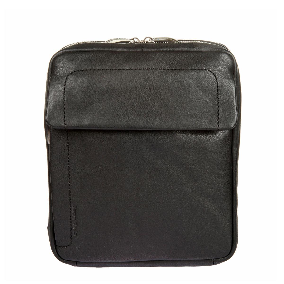 Сумка-планшет мужская Gianni Conti, цвет: черный. 16023311602331 blackСтильная мужская сумка-планшет Gianni Conti выполнена из натуральной кожи. Изделие имеет одно основное отделение, которое закрывается на застежку-молнию. Внутри имеются два открытых накладных кармана, мягкий карман для планшета, прорезной карман на застежке-молнии и два держателя для авторучек. Снаружи, на передней стенке располагается накладной карман, закрывающийся на клапан с магнитной кнопкой, и прорезной карман на застежке-молнии. На задней стенке предусмотрен дополнительный прорезной карман на застежке-молнии. Модель оснащена плечевым ремнем, который регулируется по длине. В комплект входит фирменная текстильная сумка для хранения. Роскошная сумка внесет элегантные нотки в ваш образ и подчеркнет ваше отменное чувство стиля.