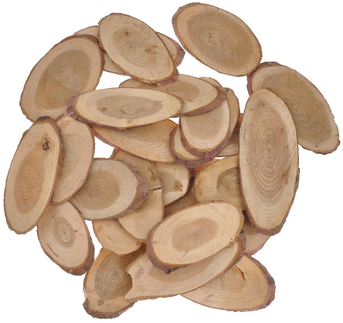 Декоративный элемент Dongjiang Art, цвет: натуральное дерево, толщина 4 мм, 250 г. 77089797708979_натуральное деоевоДекоративный элемент Dongjiang Art, изготовленный из натурального дерева, предназначен для украшения цветочных композиций. Изделие можно также использовать в технике скрапбукинг и многом другом. Флористика - вид декоративно-прикладного искусства, который использует живые, засушенные или консервированные природные материалы для создания флористических работ. Это целый мир, в котором есть место и строгому математическому расчету, и вдохновению. Толщина среза: 4 мм. Средний размер элемента: 4,5 см х 8,5 см.
