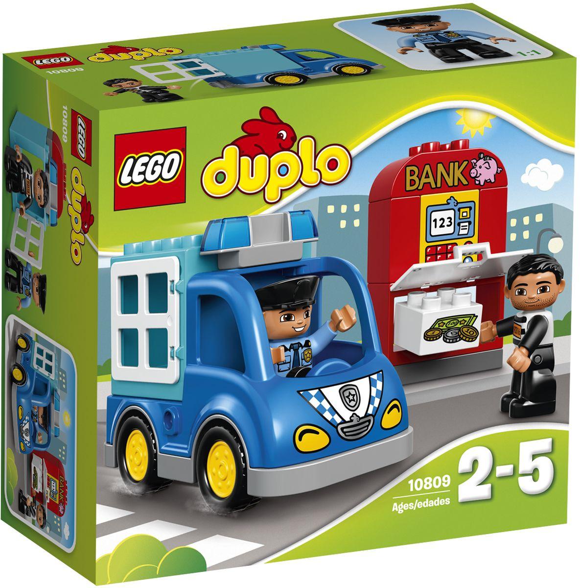LEGO DUPLO Конструктор Полицейский патруль 10809