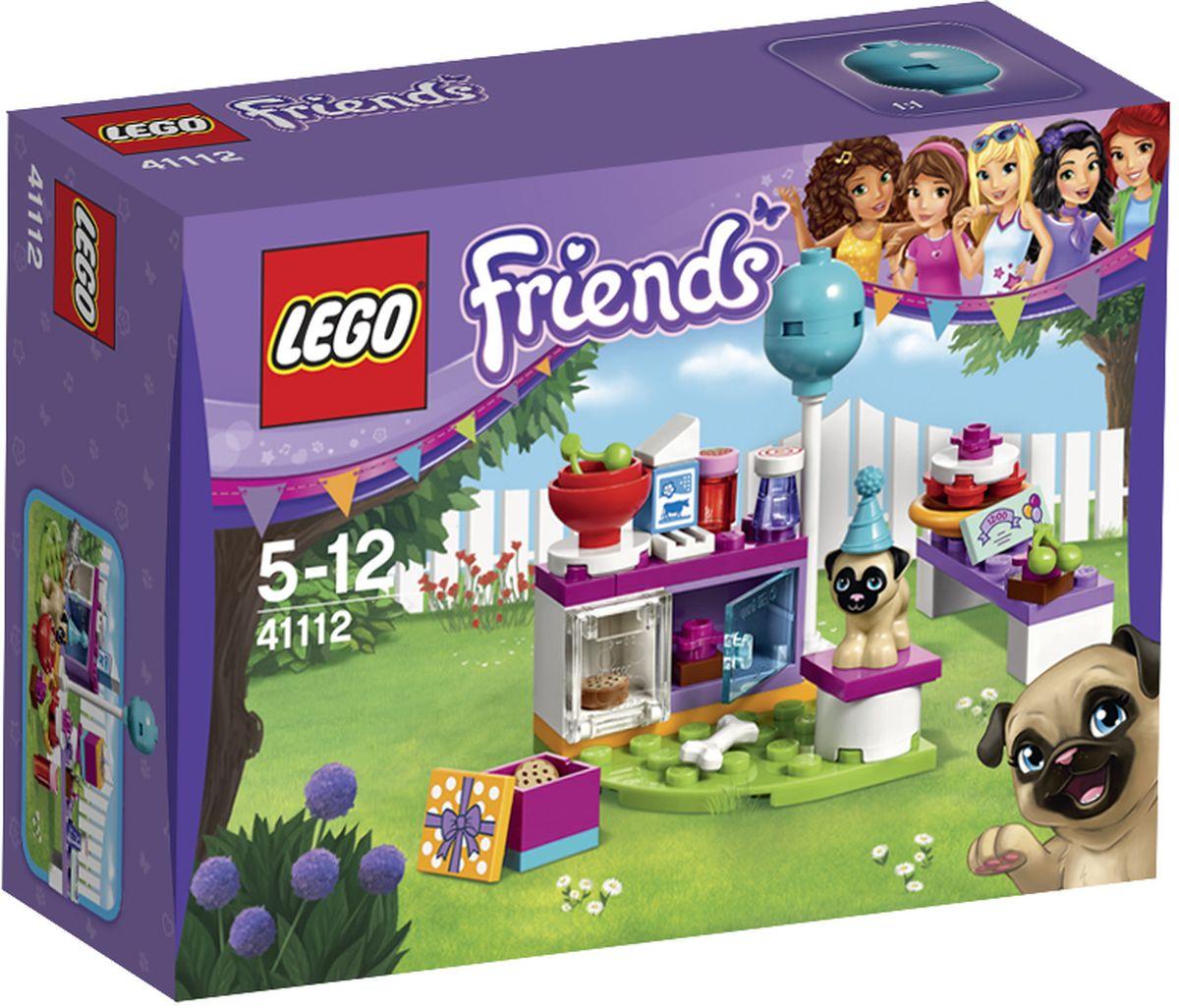 LEGO Friends Конструктор День рождения Тортики 4111241112Мопс Тофи был приглашен на вечеринку по случаю Дня рождения. Заходите на кухню, чтобы помочь приготовить торт, который потом возьмете с собой! Все, что нужно, есть в холодильнике и в шкафу. Затем надевайте праздничный колпак и отправляйся, но сначала дайте Тофи косточку, чтобы он не съел торт по дороге! Набор включает в себя 50 разноцветных пластиковых элементов. Конструктор - это один из самых увлекательнейших и веселых способов времяпрепровождения. Ребенок сможет часами играть с конструктором, придумывая различные ситуации и истории.
