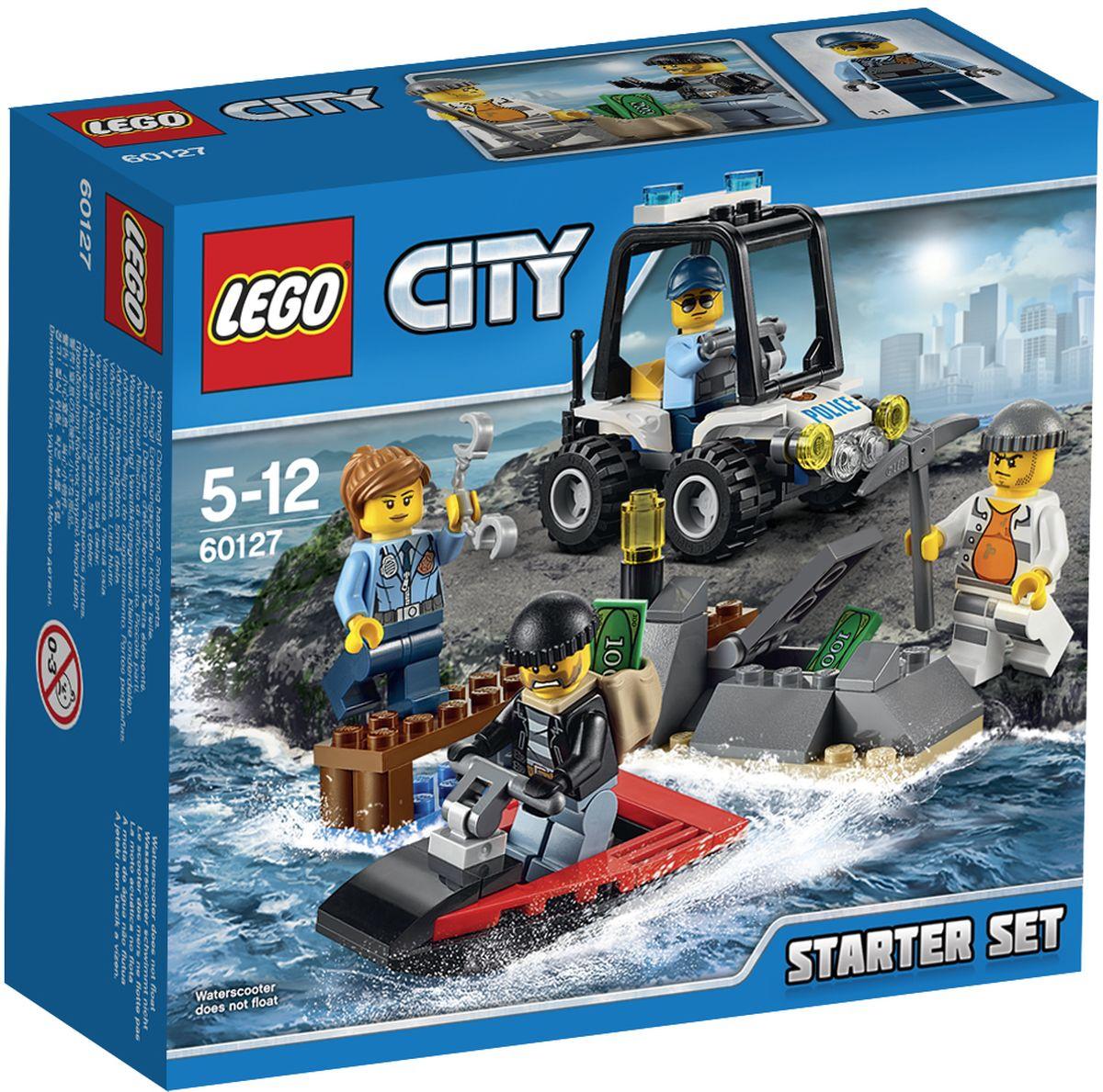 LEGO City Конструктор Остров-тюрьма 6012760127Звучит тревога: с острова-тюрьмы совершён побег! Запрыгивай в полицейский багги и отправляйся в погоню за преступником, чтобы поймать его, прежде чем сообщник встретит его на катере. Поспеши, иначе они скроются с награбленным! Жизнь в LEGO City всегда бьёт ключом. Набор для начинающих LEGO City Остров-тюрьма - это один из самых увлекательнейших и веселых способов времяпрепровождения. Ребенок сможет часами играть с конструктором, придумывая различные ситуации и истории. В набор также входят 4 мини-фигурки: 2 полицейских и 2 преступников. В процессе игры с конструкторами LEGO дети приобретают и постигают такие необходимые навыки как познание, творчество, воображение. Обычные наблюдения за детьми показывают, что единственное, чему они с удовольствием посвящают время, - это игры. Игра - это состояние души, это веселый опыт познания реальности. Играя, дети создают собственные миры, осваивают их, а познавая - приобретают знания и умения. Фантазия ребенка безгранична,...
