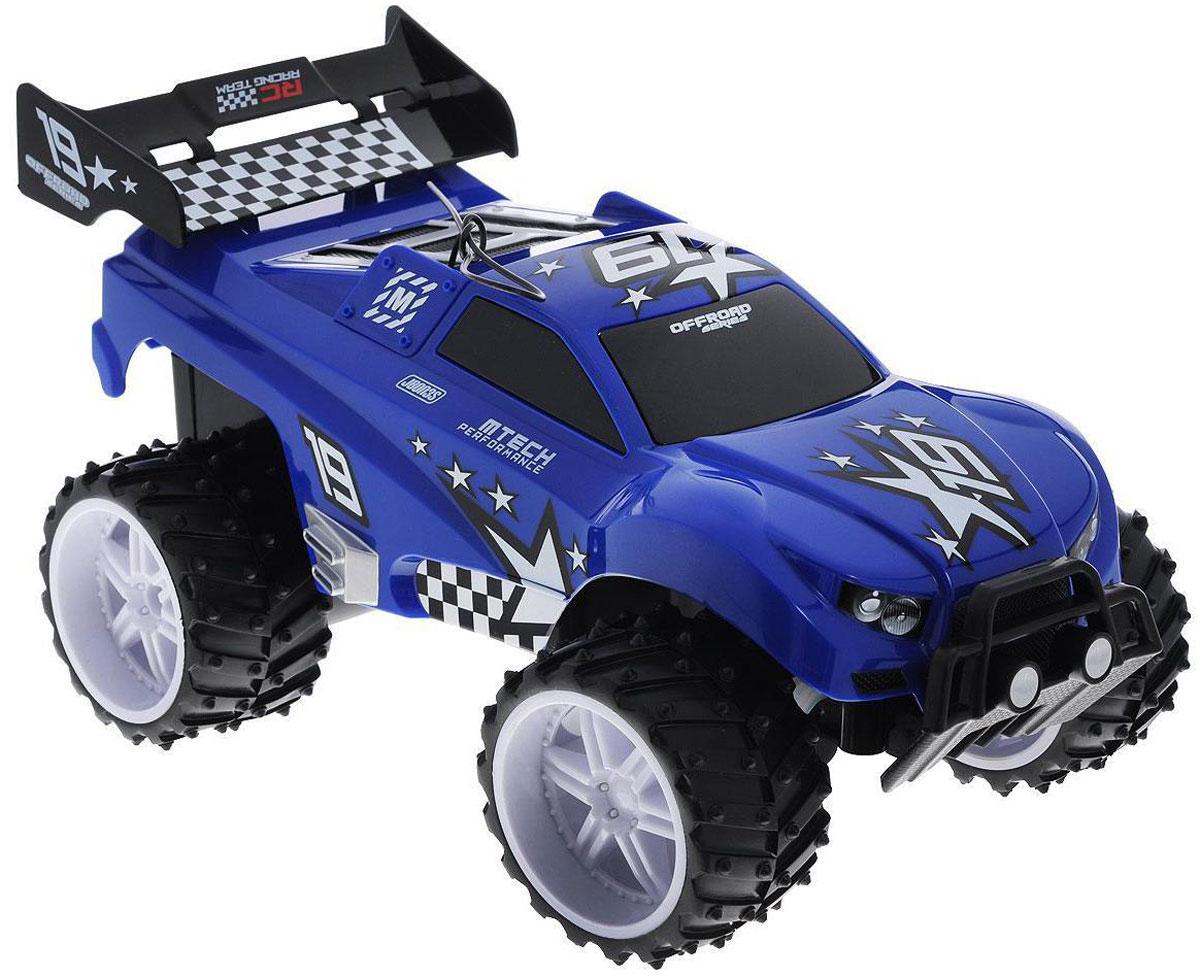 Maisto Машина на радиоуправлении Dune Blaster цвет синий81095 R/C_синийМашинка на радиоуправлении Maisto Dune Blaster доставит массу приятных впечатлений вашему ребенку! Игрушка отличается ярким, оригинальным дизайном и удобным управлением. Это самый настоящий внедорожник для любителей автомобильной техники и экстремального вождения. Полный привод (вперед, назад, вправо, влево) обеспечивает отличную проходимость. Игрушка отличается ярким, оригинальным дизайном и удобным управлением. Модель обладает высокой стабильностью движения, что позволяет полностью контролировать процесс, управляя уверенно и без суеты. Такая модель станет отличным подарком не только любителю автомобилей, но и человеку, ценящему оригинальность и изысканность, а качество исполнения представит такой подарок в самом лучшем свете. Пульт управления работает на частоте 27 MHz. Для работы игрушки необходимы 4 батарейки типа АА (товар комплектуется демонстрационными). Для работы пульта управления необходимы 2 батарейки типа АА (товар комплектуется...