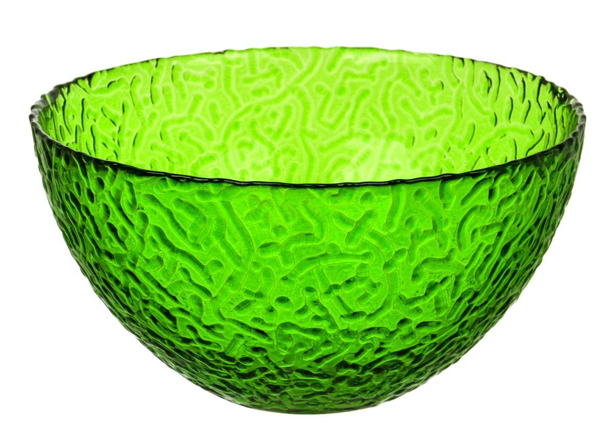 Салатник NiNaGlass Ажур, цвет: зеленый, диаметр 25 смNG83-043GСалатник NiNaGlass Ажур выполнен из высококачественного стекла и декорирован рельефным узором. Он подойдет для сервировки стола как для повседневных, так и для торжественных случаев. Такой салатник прекрасно впишется в интерьер вашей кухни и станет достойным дополнением к кухонному инвентарю. Подчеркнет прекрасный вкус хозяйки и станет отличным подарком. Не рекомендуется использовать в микроволновой печи и мыть в посудомоечной машине. Диаметр салатника (по верхнему краю): 25 см. Высота стенки: 10 см.