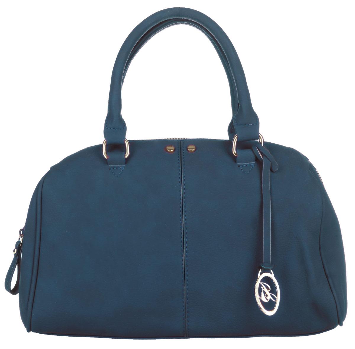 Сумка женская Jane Shilton, цвет: зеленый. 19341934greenСтильная сумка Jane Shilton выполнена из искусственной кожи с зернистой фактурой, оформлена подвеской и металлической фурнитурой с символикой бренда. Сумка содержит одно отделение, которое закрывается на застежку-молнию. Внутри изделия расположены: врезной карман на застежке-молнии, три накладных кармана, один из которых на молнии, а другой закрывается на кнопку. Снаружи, в тыльной стенке сумки, размещен врезной карман на молнии. Изделие оснащено съемным плечевым ремнем и двумя практичными ручками, которые позволят носить изделие, как в руках, так и на плече. Оригинальный аксессуар позволит вам завершить образ и быть неотразимой.
