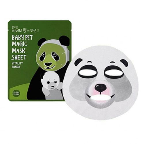 Holika Holika Тканевая маска-мордочка против темных кругов под глазами (Панда) Baby Pet Magic, 22 мл