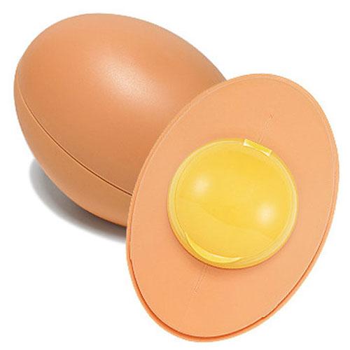 Holika Holika Очищающее мыло для лица Sleek Egg (бежевый), 140 мл