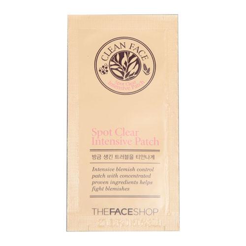 The Face Shop Лечебные наклейки от воспалений Clean Face, 10 штУТ000001537Локальный патч является эффективным средством для уменьшения несовершенств кожи. Масло чайного дерева и другие концентрированные активные ингредиенты помогают бороться с воспалениями, покраснениями, избытком кожного сала, расширенными порами.